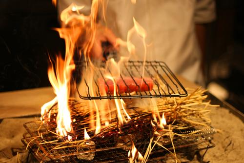 藁炙り焼き